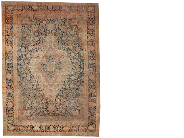 A Mohtasham Kashan carpet Central Persia size approximately 12ft. x 16ft.