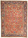 A Heriz carpet Northwest Persia size approximately 8ft. 6in. x 11ft. 5in.