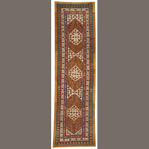 A Serab runner Northwest Persia size approximately 3ft. 8in. x 12ft.