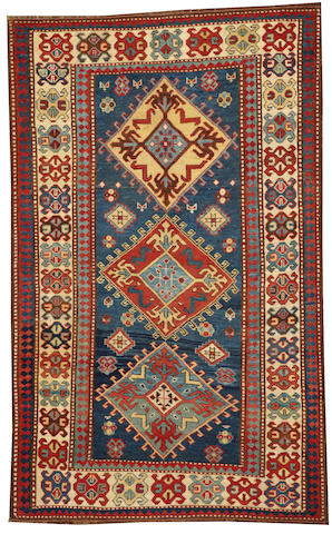 A Genje rug Caucasus size approximately 4ft. x 6ft. 4in.