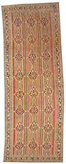 A Karabagh long carpet Caucasus size approximately 7ft. x 18ft. 9in.