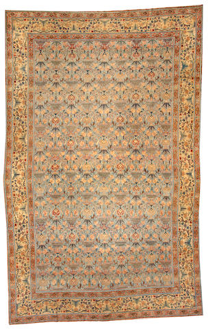 A Hadji Jalili Tabriz carpet Northwest Persia size approximately 10ft. 11in. x 17ft. 2in.
