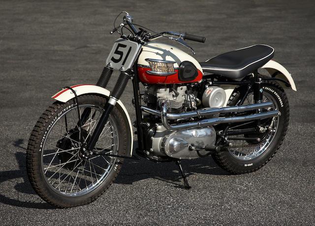 1957 Triumph 650cc TR6 Frame no. TR602176 Engine no. TR602176