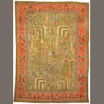 An Oushak carpet West Anatolia size approximately 9ft. x 12ft. 6in.