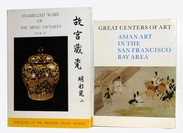 A group of museum catalogues of Chinese and Asian arts