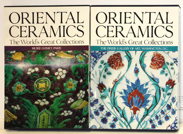 An eleven volume set of Oriental Ceramics: the World's Great Collections