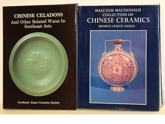 A group of ten books on Chinese ceramics