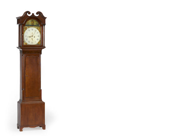 A Federal tall case clock