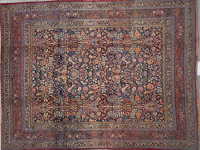 A Doroksh carpet Northeast Persia size approximately 10ft. x 13ft. 4in.