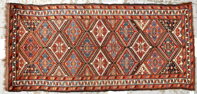 A Louri rug Caucasus size approximately 4ft. 2in. x 8ft. 10in.