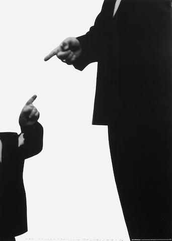 John Baldessari (American, born 1931); Talking Back to the Media, Amsterdam poster;