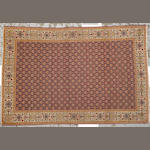 A Tabriz rug Northwest Persia size approximately 4ft. 6in. x 6ft. 9in.