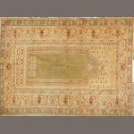A Turkish rug Turkey size approximately 4ft. 2in. x 5ft. 7in.
