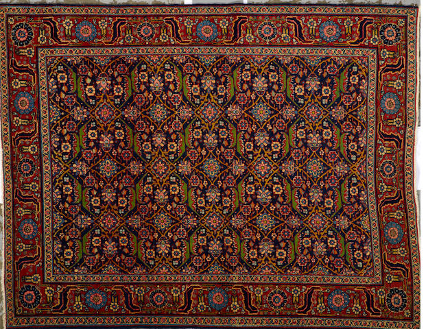A Tabriz rug Northwest Persia size approximately 4ft. 8in. x 6ft.