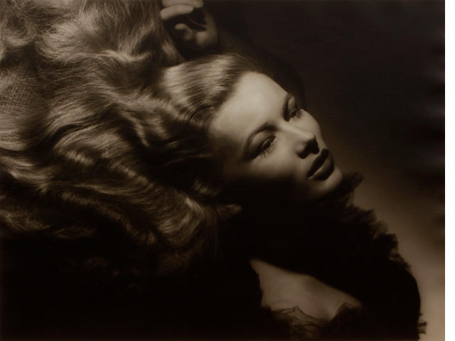 George Hurrell: (3) Veronica Lake, Clark Gable & Charles Boyer, 1932-41; ed. of 25 or 250, from Portfolios II & III