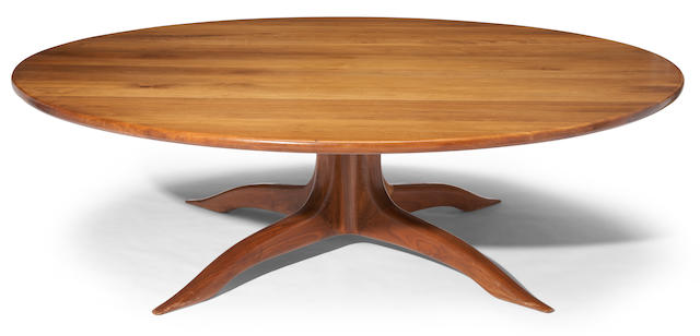 A Sam Maloof conference table