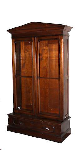 A Victorian Renaissance Revival walnut bookcase third quarter 19th century