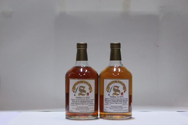 Highland Park-20 year old-1975  Longmorn-23 year old-1972