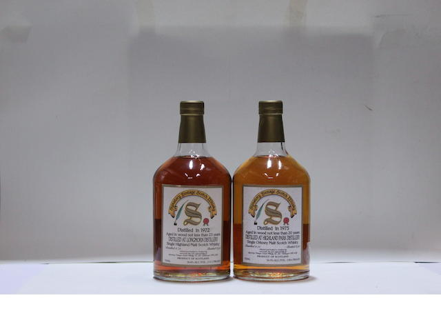 Highland Park-20 year old-1975Longmorn-23 year old-1972
