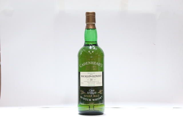 Macallan-Glenlivet-30 year old-1963