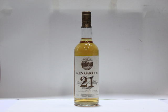 Glen Garioch-21 year old-1965