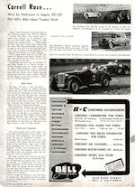 1936 MG NB  Chassis no. 098A164N Engine no. 1098AN