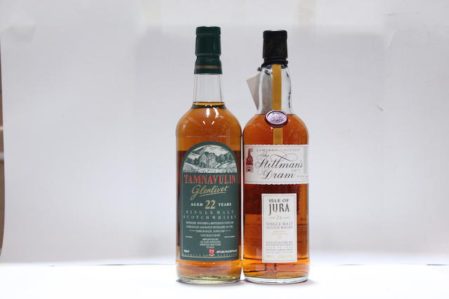 Tamnavulin-Glenlivet-22 year oldIsle of Jura-26 year old-1965