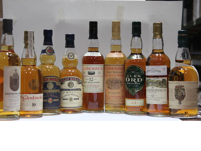 Deanston-17 year oldDeerstalker-12 year oldGlen Moray-12 year old (3)Glen Moray-17 year oldGlen Ord-12 year oldGlendronach-12 year oldGlenkinchie-10 year oldGlenmorangie-10 year oldGlenmorangie Port Wood-12 year old (2)
