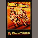 Robert Carter, 'Bultaco at Barcelona 24 hour',