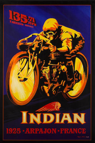 Robert Carter, 'Indian 8 Valve',