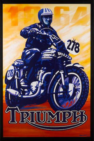 Robert Carter, 'McQueen Triumph',