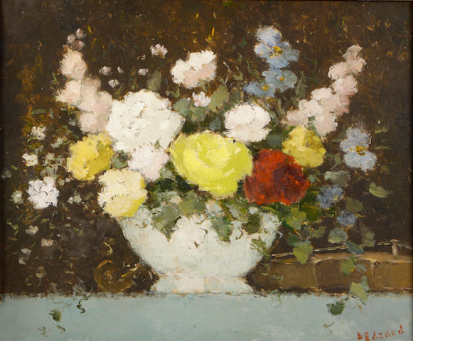 D. Edzard, Bouquet, oil on canvas