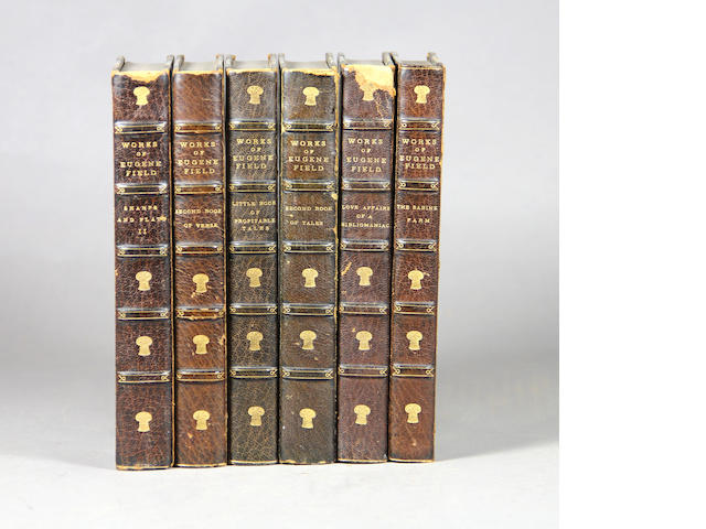 [BINDINGS.] Field, Eugene. 12 vols.