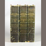 DIBDIN, THOMAS. A Bibliographical Tour. London, 1821. 3 vols.
