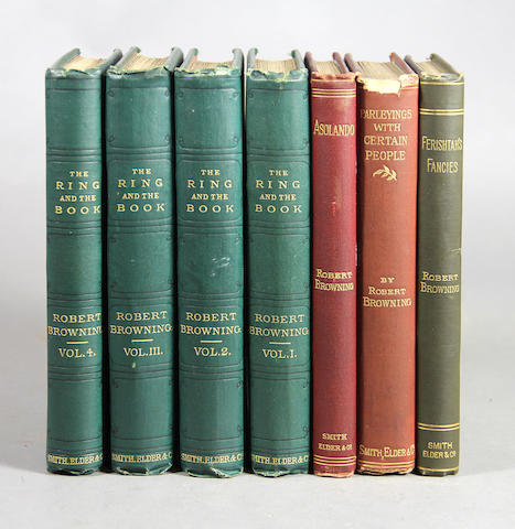 Browning, Robert and Elizabeth Barrett. 16 vols.