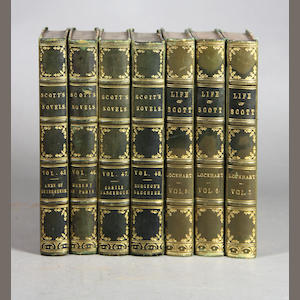 [BINDINGS.] Scott, Sir Walter. 77 vols.