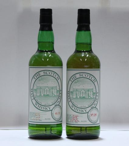 SMWS 37.25-18 year oldSMWS 41.32-18 year old