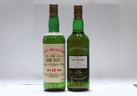 Glen Scotia-12 year oldGlen Scotia-16 year old-1977