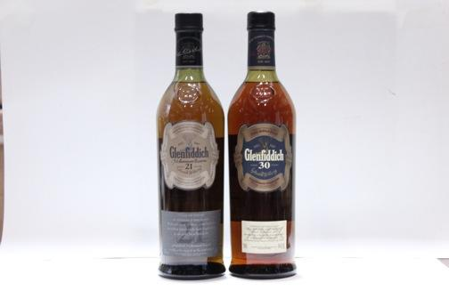 Glenfiddich- 21 year old  Glenfiddich- 30 year old