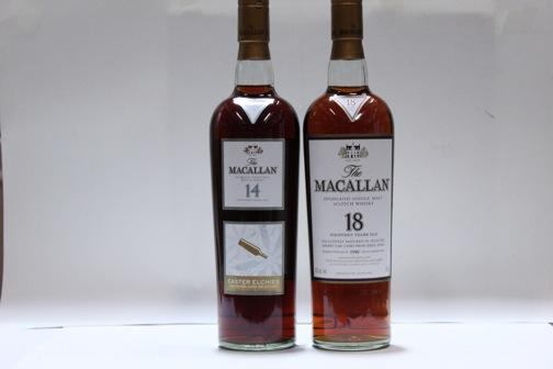Macallan-18 year old-1990Macallan-14 year old-1991