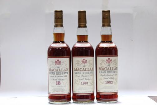Macallan-18 year old-1980Macallan-1981Macallan-1982