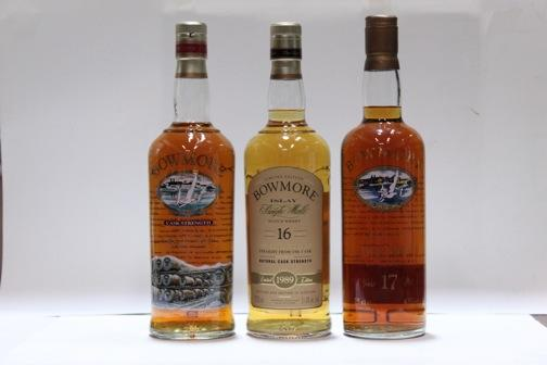 Bowmore  Bowmore- 16 year old-1989  Bowmore- 17 year old