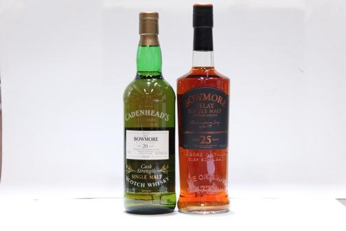 Bowmore- 20 year old-1974  Bowmore- 25 year old