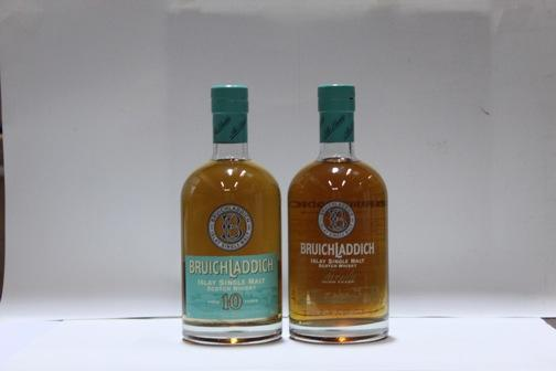 Bruichladdich- 10 year old  Bruichladdich- 20 year old