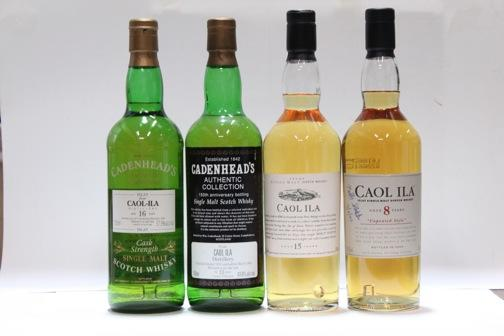 Caol Ila-8 year oldCaol Ila-15 year oldCaol Ila-13 year old-1978Caol Ila-16 year old-1977
