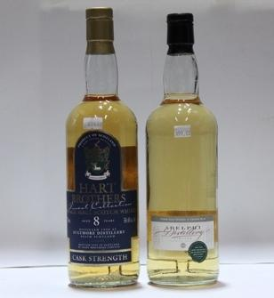 Aultmore- 8 year old-1990  Aultmore- 8 year old-1989