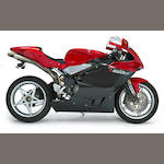 2005 MV Agusta Frame no. ZCGAKFGM95V100185 Engine no. A502551