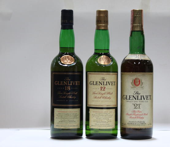 Glenlivet-12 year old (4)   Glenlivet-18 year old (2)   Glenlivet-21 year old