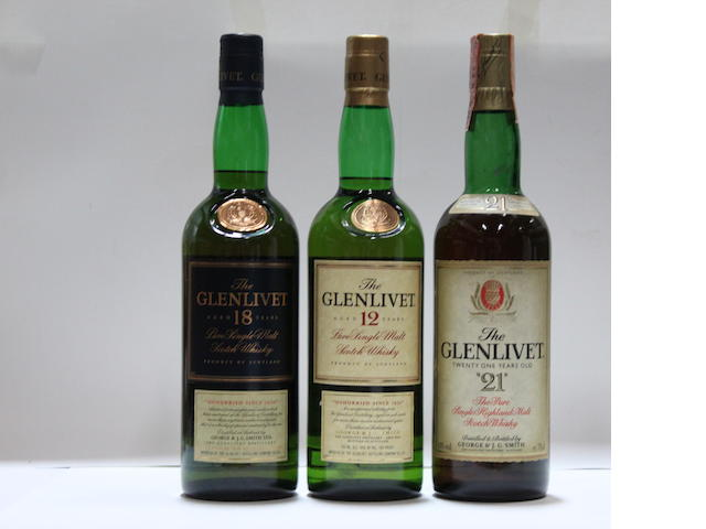 Glenlivet-12 year old (4)Glenlivet-18 year old (2)Glenlivet-21 year old