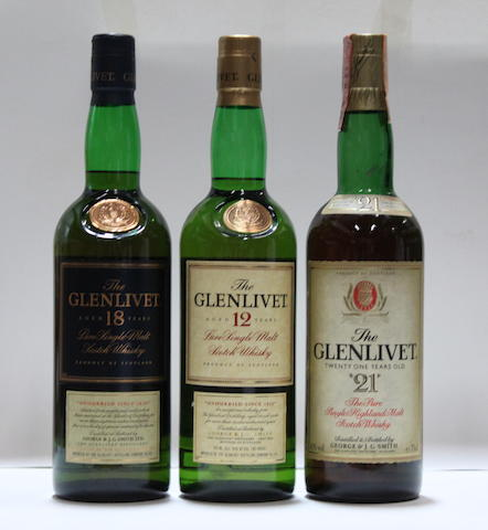 Glenlivet-12 year old (4)   Glenlivet-18 year old (2)   Glenlivet-21 year old (1)